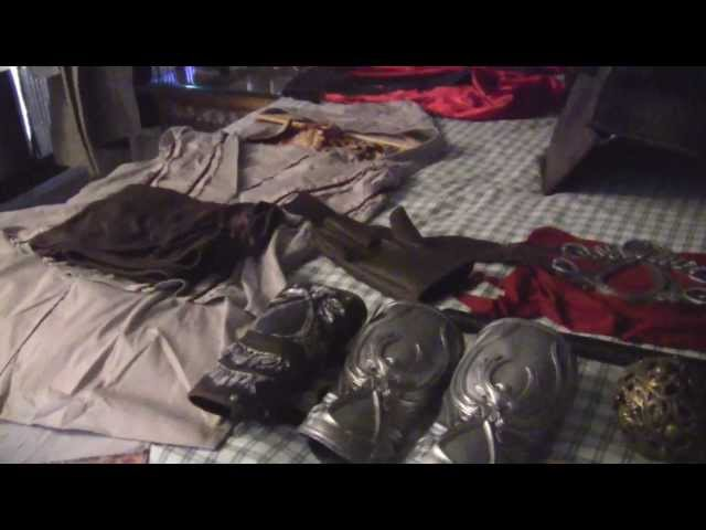 Assassin's Creed 2 Ezio Auditore costume and hidden blades review