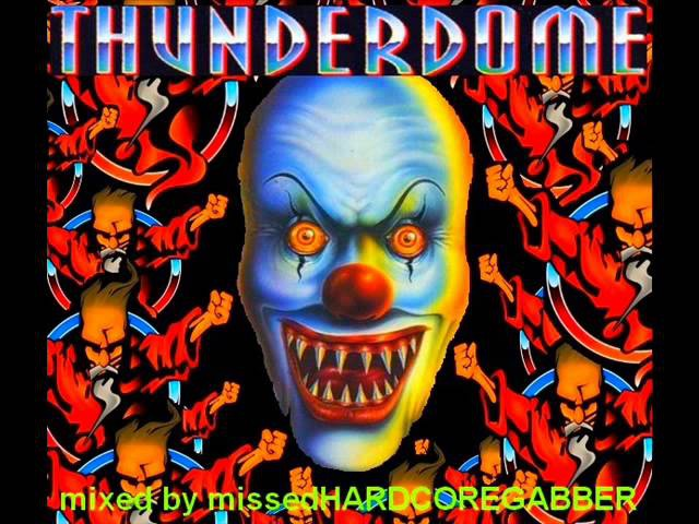 THUNDERDOME - RAVE PARTY 1996 - MIX (HD HQ HIGH QUALITY HARDCORE GABBER CLASSICS GREATEST HITS)