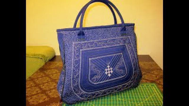 сумка своими руками уроки шитья мастер класс сшить дома самой » Freewka.com - Смотреть онлайн в хорощем качестве
