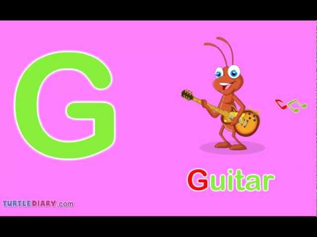 Toddler Words | Words Starting With G