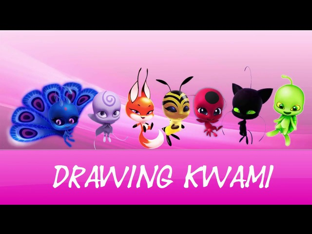 Speed Drawing Kwami | How to draw watercolors