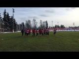Тренировка Спартака перед Локомотивом