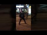Уличный танцор в Краснодаре