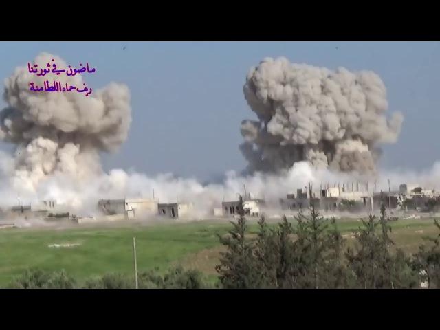 Применение ОДАБ-500 в Сирии
