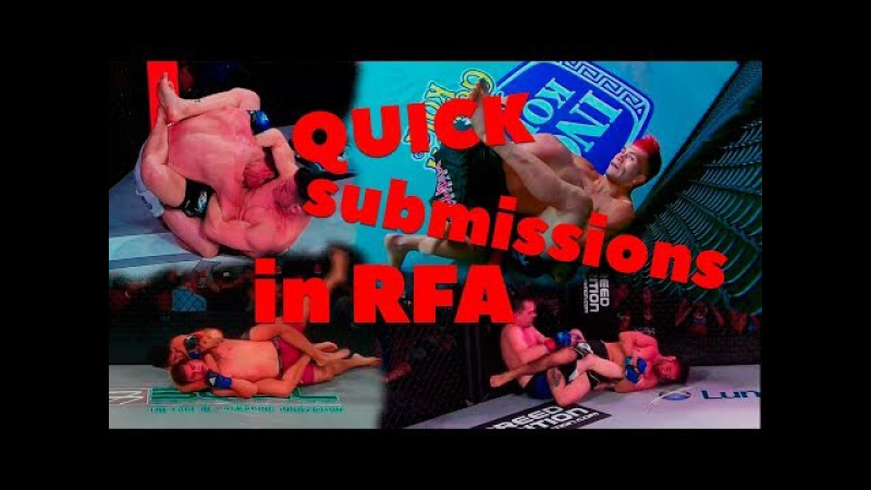 Quick submissions in RFA
