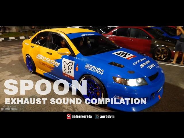Honda Spoon Sound Compilation XO AutoSport Street Style in Malaysia