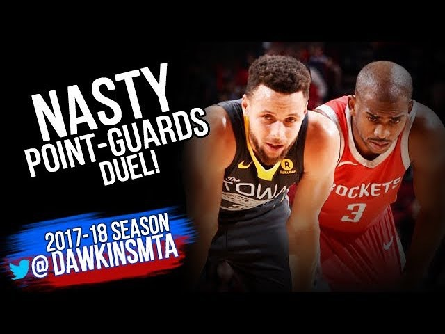 Stephen Curry vs Chris Paul LEGENDARY PG Duel 2018.01.20 - Steph With 19-8, CP With 33-11-7 Asts!