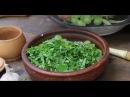 11 Средневековая кухня Англии.Фаршированные цыплята «Способы приготовления еды» 1390г.
