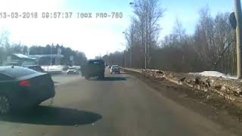 Жесткое ДТП в Казани на встречке 13 03 18 смотреть онлайн без регистрации