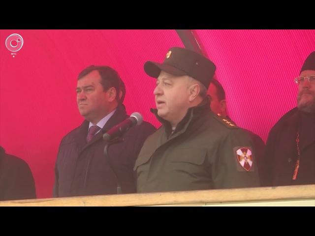 Отряд спецназа 'Ермак' завершил полугодовую командировку на Северный Кавказ