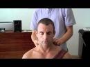 Костоправ лечит шею