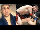 РЕАКЦИЯ ЯКВИНТЫ НА БОЙ С ХАБИБОМ НУРМАГОМЕДОВЫМ НА UFC 223