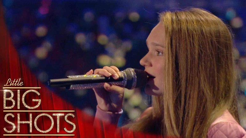 Sapphire sings 'Still Falling For You' live! | Little Big Shots