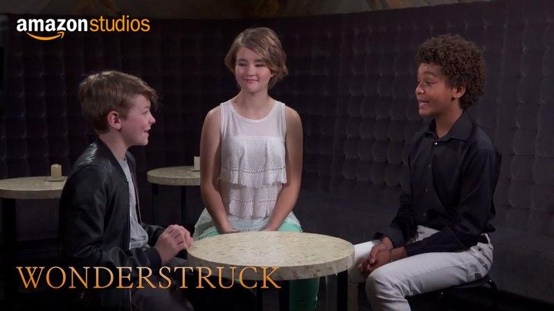 Wonderstruck - Roundtable: Oakes Fegley, Millicent Simmonds Jaden Michael | Amazon Studios