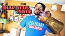 Infinity Gauntlet 1:1 Scale Avengers Infinity War Movie Legends Series Toy Review