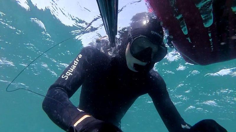 Подводная охота в черном море (Spearfishing in black sea)