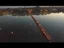 Донецк 1 июня, 2017 видео Грэма Филлипсасотни горящих фонариков в память о погибших детях Донбасса
