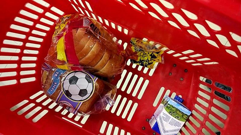 Tzar Vasilich - Santa Lucia in the Supermarket