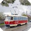 Типичный трамвай Мариуполя