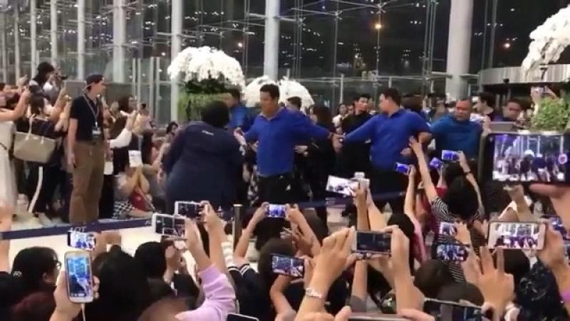 EXO в Аэропорту Тайваня