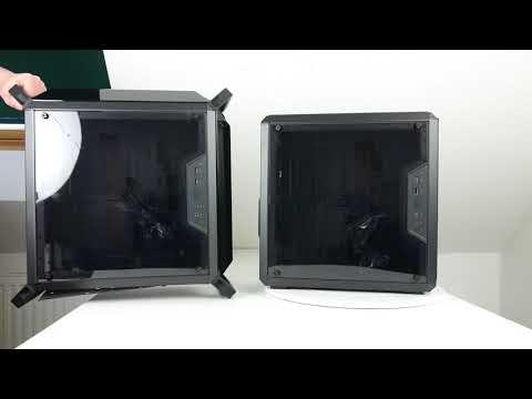 Ausgepackt angefasst: Cooler Master MasterBox Q300P und MasterBox Q300L - Mini-Tower im Doppelpack