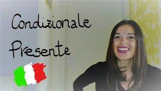 LEARN ITALIAN: CONDIZIONALE PRESENTE/present conditional