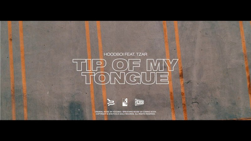 Hoodboi - Tip Of My Tongue ft. TZAR (Official Audio)