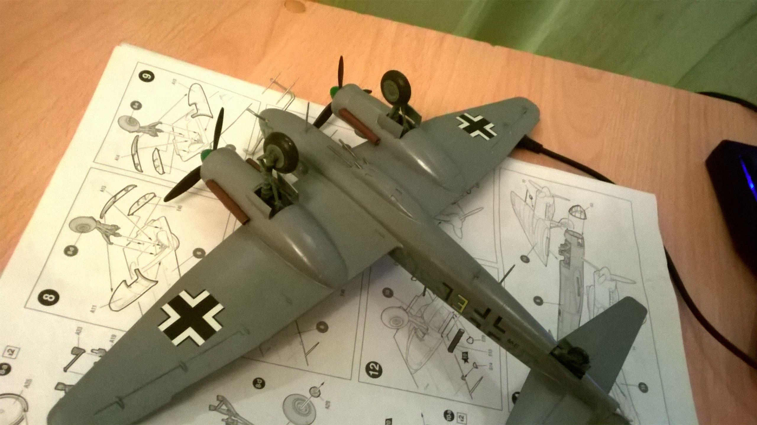 Ju-88 G-6 1/72 (Звезда) YZE_JoxFo-w