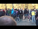 Харьков. 18 сентября, 2014. Нападение правосеков на митинг