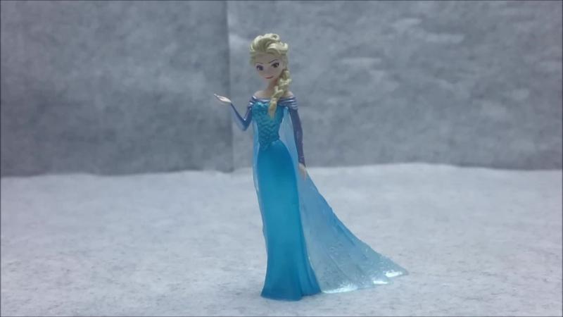 Обзор: Frozen Ultra Detail Figure No.258 Elsa от MEDICOM TOY
