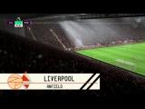 Атмосфера на стадионах в FIFA 18 и в реальной жизни