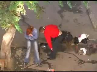 Пьяные малолетки в Саратове. Круто погуляли!