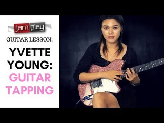 Yvette Young JamPlay Guitar Lesson: Guitar Tapping (Math Rock // Progressive)
