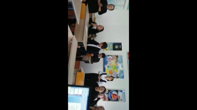 Ы.Алтынсарин мектебінің 11 сынып оқушыларымен кездесу