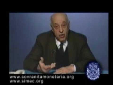 Giacinto Auriti - Banca dItalia e BCE associazioni a delinquere