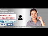 Facebook Customer Service 1-866-359-6251: A Way To Regain FB Password