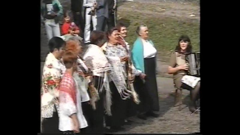 д. Хийденсельга 2003 вокальная группа Горенка