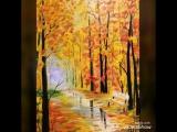 Картина «Прощание с осенью»