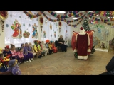 Утренник в саду. Клоун Бим-Бом и Дедушка Мороз  (2)
