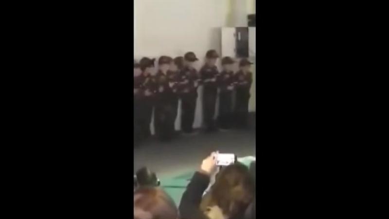 Wie im Nahen Osten In Ditib-Moschee in Herford laufen Moslem-Kinder bereits in Kampfanzügen herum!