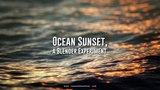 Ocean Sunset, a Blender Experiment