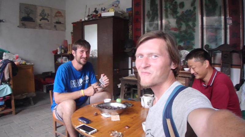 в гостях горы тайшань
