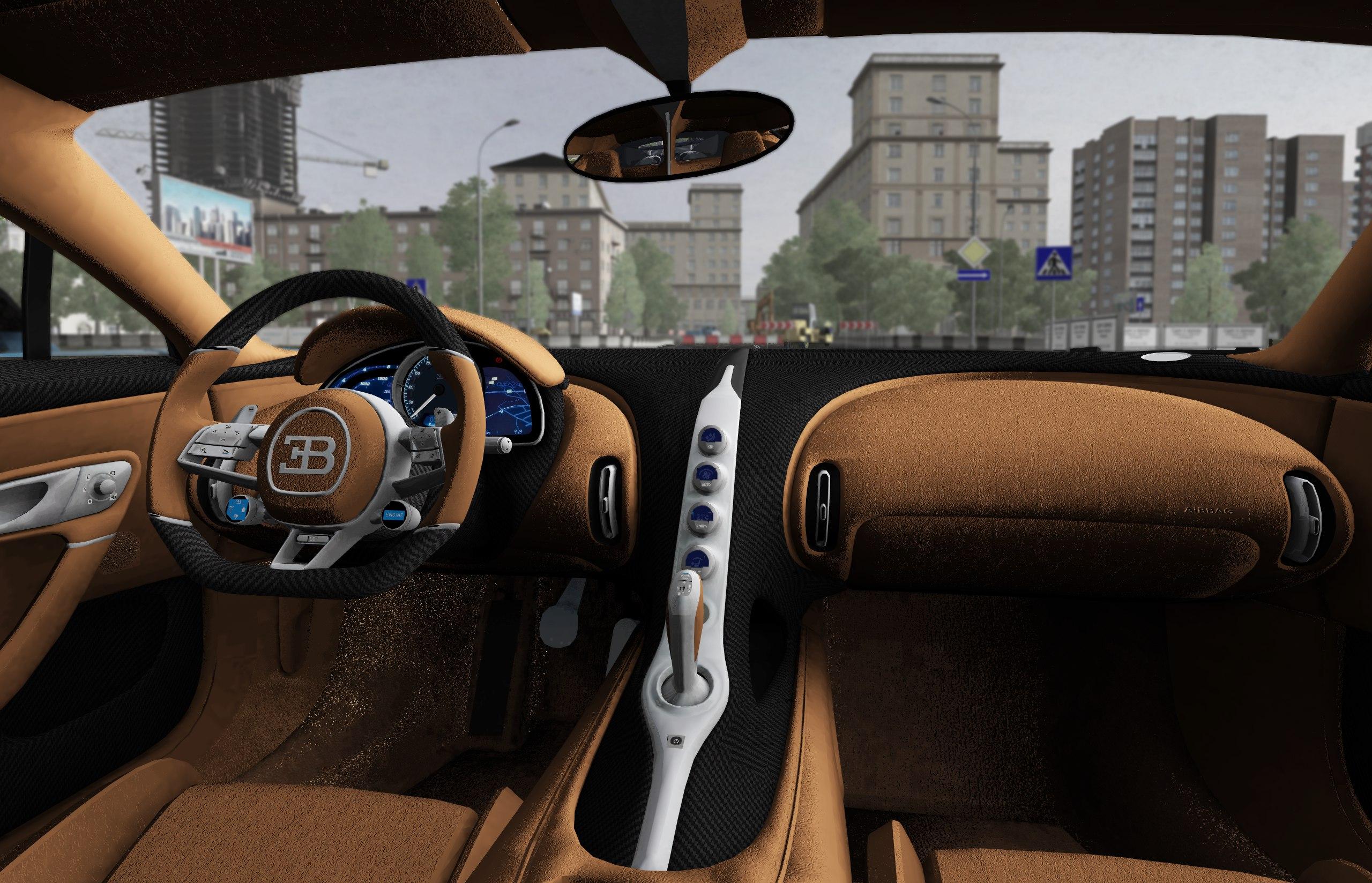 4478f0b2653 City Car Driving :: Topic: 2016 Bugatti Chiron - 1.5.7 (1/2)