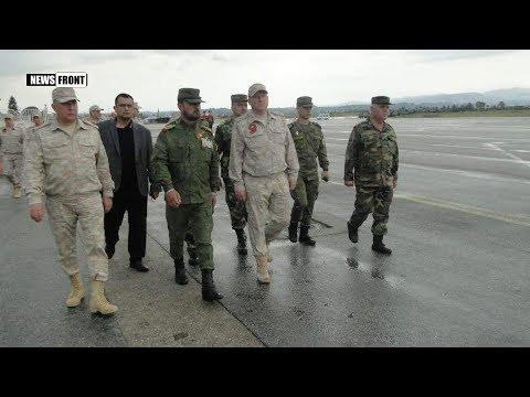 Генерал САА Сухейл Аль Хасан Тигр награжден российским командованием орденом Суворова