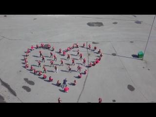 #BEONEDANCE - 400 ЛЕТ НОВОКУЗНЕЦКУ  ТАНЦЕВАЛЬНЫЙ ФЛЕШМОБ