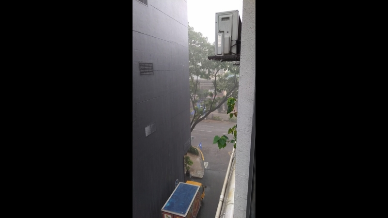 Тропический ливень в Куалу Лумпур 2