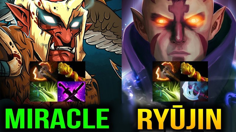 Miracle Trollwarlord vs Ryūjin Antimage - He's Just TOO STRONG Dota 2