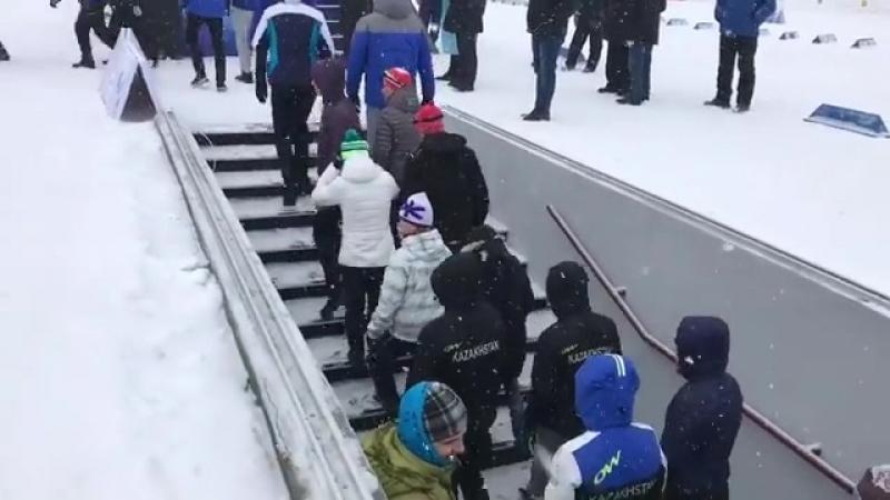 Парад команд fis 2018 Schuchinsk - 2