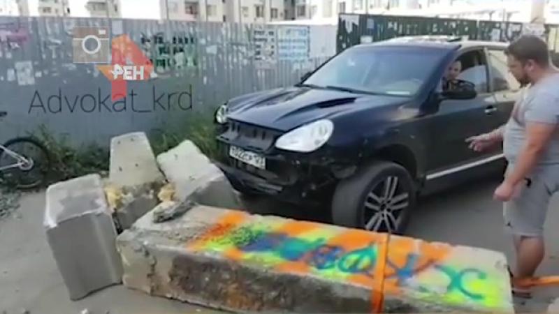 Водитель на порше против местных жителей Дорожный конфликт разгорелся в Краснодаре. РЕН ТВ РЕН ТВ (chunklist) (via Skyload)