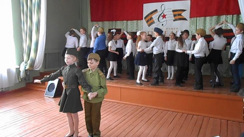 Случайный вальс в исполнении 3 б класса школы №2. Руководитель, учитель начальных классов Полищук Ирина Анатольевна